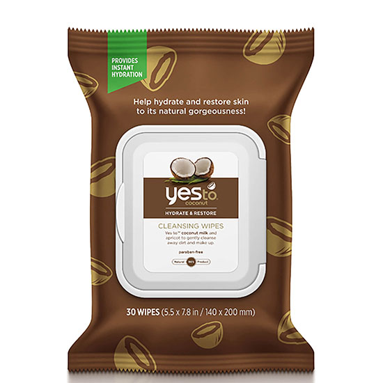 Yes To Coconut Cleansing Wipes 1 Pack