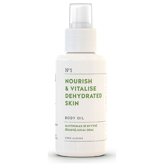You & Oil Nourish & Vitalise Body Oil for Dehydrated Skin