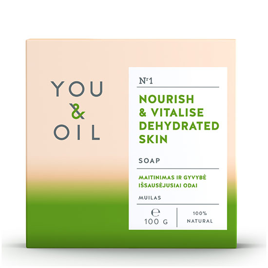 You & Oil Nourish & Vitalise Soap for Dehydrated Skin