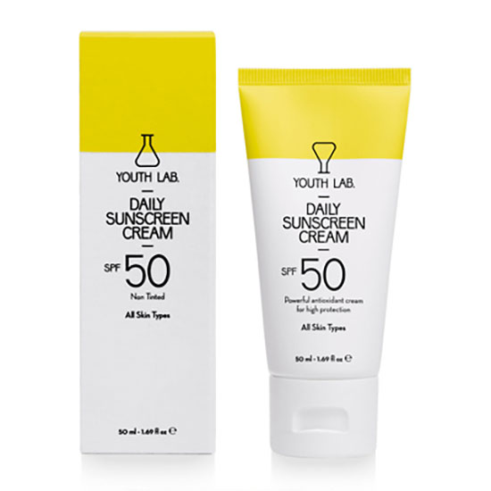 YOUTH LAB Daily Sunscreen Cream SPF50 All Skin Types 50ml