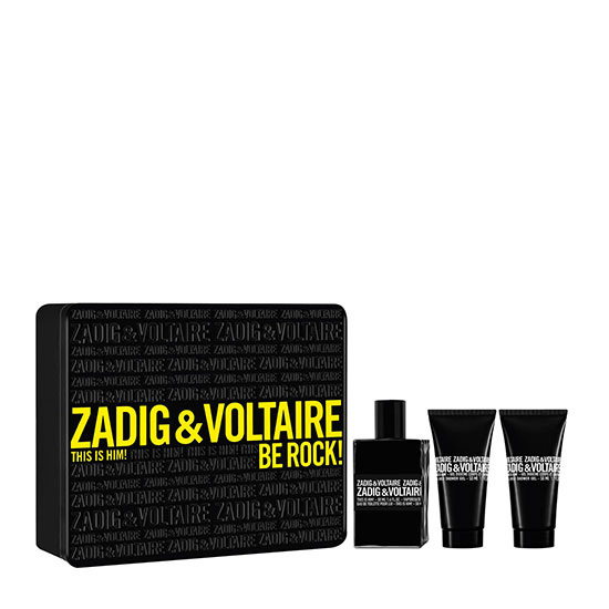 Zadig & Voltaire This is Him! Be Rock! Eau de Toilette Gift Set