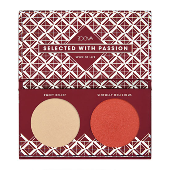 ZOEVA Spice Of Life Duo Face Palette
