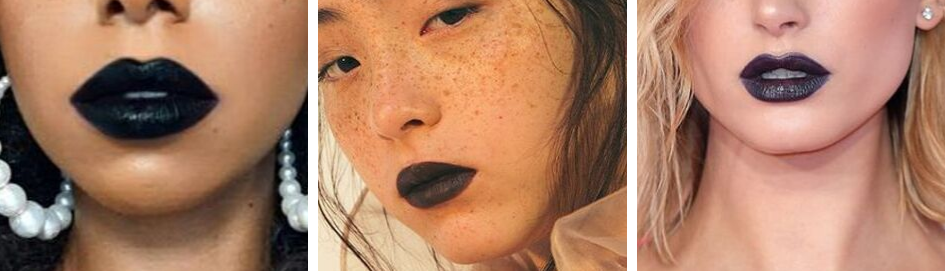 11 Black Lipsticks Header