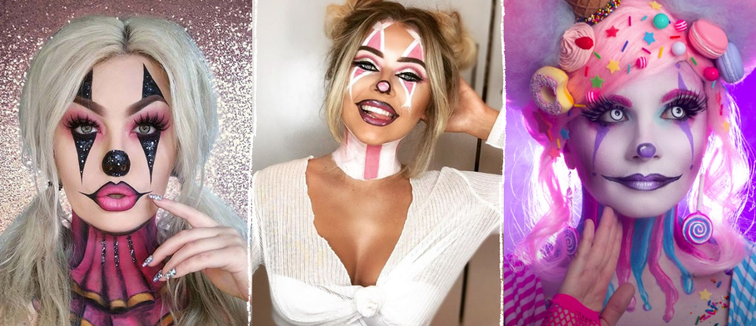 Favourite Clown Makeup Looks