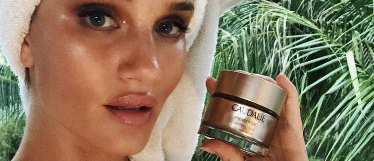 Rosie Huntington Whiteley Caudalie