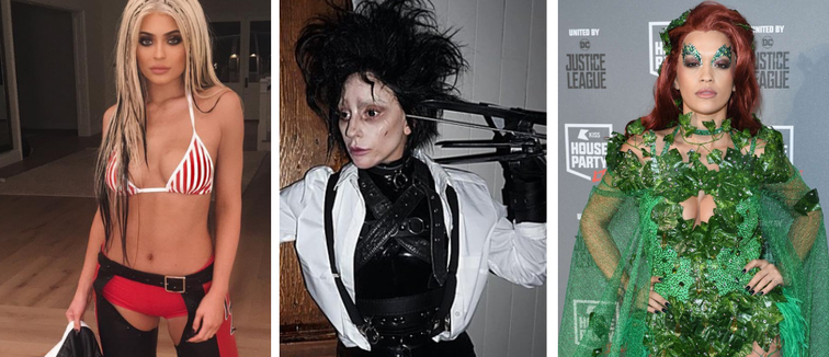Top Celebrity Halloween Looks