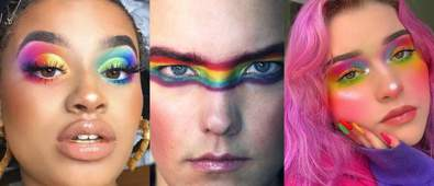 pride makeup looks