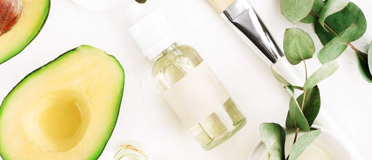 avocado and plants natural skin care