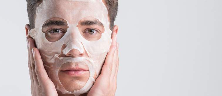 The best sheet masks for men | Cosmetify