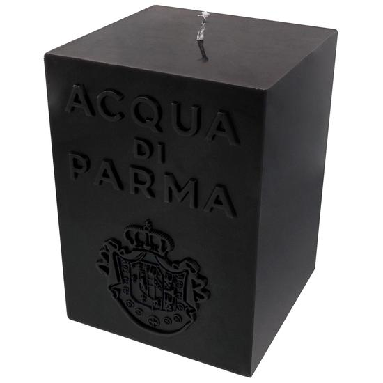 Acqua di Parma Large Cube Candle Black Amber 35 oz