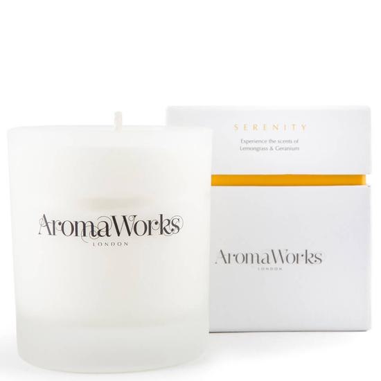 Aroma Works Serenity Candle 10 oz