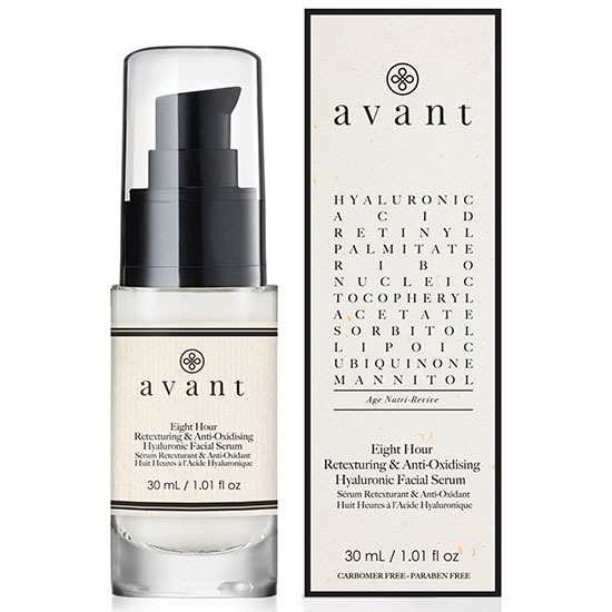 Avant 8 Hour Anti-Oxidizing & Retexturing Hyaluronic Facial Serum