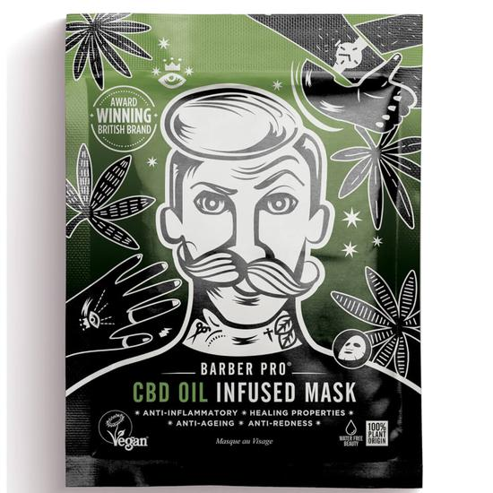 BARBER PRO Cbd Oil Infused Mask 1 oz