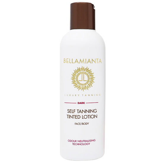 Bellamianta Lotions Dark Self Tanning Tinted Lotion 200ml