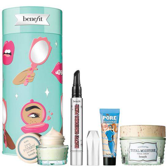 Benefit Your B.Right To Party Gift Set Skin Care & Brow Care Set