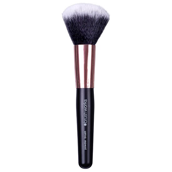 Brushworks Powder Brush Black