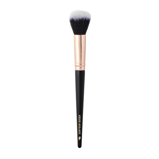 By Beauty Bay Rose Gold Glam Contour Queen Small Domed Buffer Brush