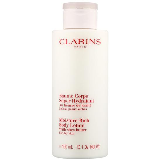 Clarins Body Moisturizers Moisture Rich Body Lotion With Shea Butter For Dry Skin 400ml