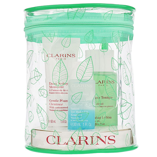 Clarins Gifts & Sets Toning Lotion With Iris Gift Set 3 oz