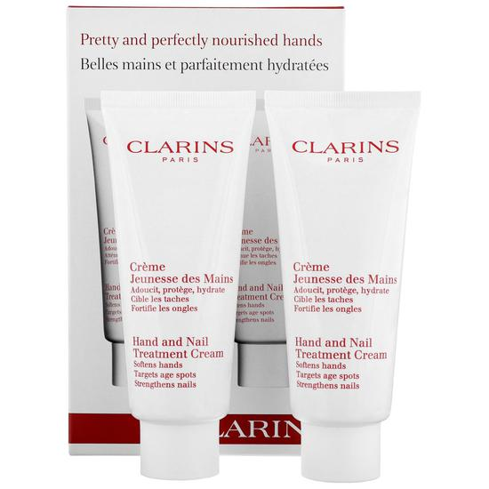 Clarins Hand & Nail Treatment Cream Duo 2 x 100ml