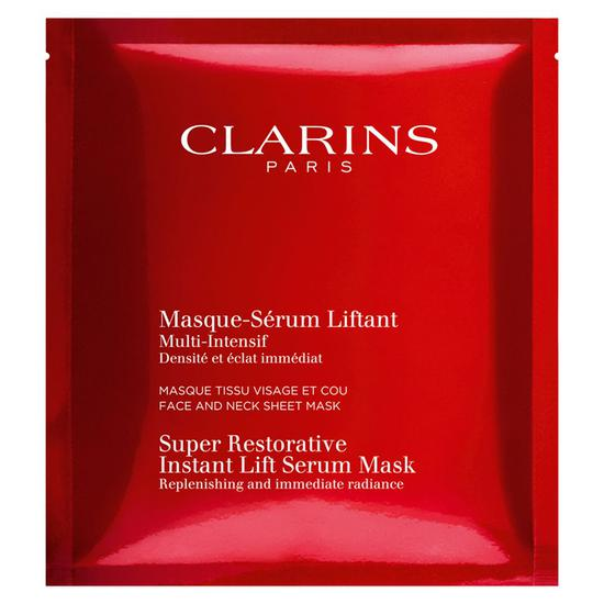 Clarins Super Restorative Instant Lift Serum Mask 1 Mask