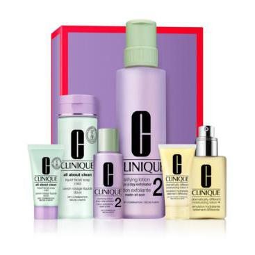 Clinique Dramatically Different Great Skin Anywhere Dramatically Different Moisturizing Gel Gift Set