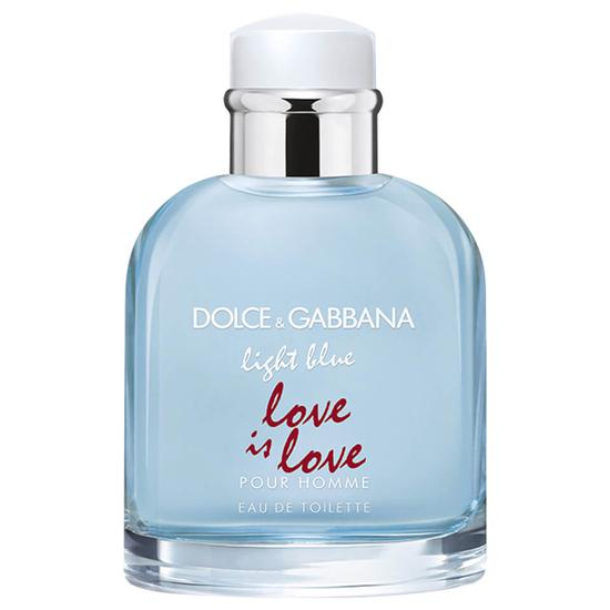 Dolce & Gabbana Light Blue Pour Homme Love Is Love Eau De Toilette 3 oz