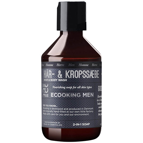 Ecooking Men Hair & Body Shampoo