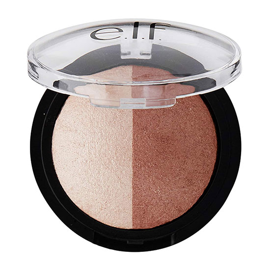e.l.f. Cosmetics Baked Highlighter & Bronzer Bronzed Glow 5.2g