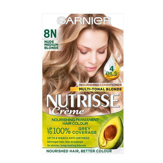 Garnier Nutrisse 8n Nude Medium Blonde Permanent Hair Dye