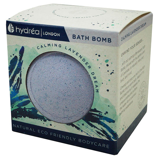 Hydréa London Calming Lavender Bath Bomb