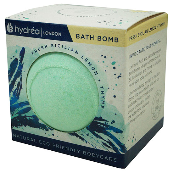 Hydréa London Uplifting Sicilian Lemon & Thyme Bath Bomb