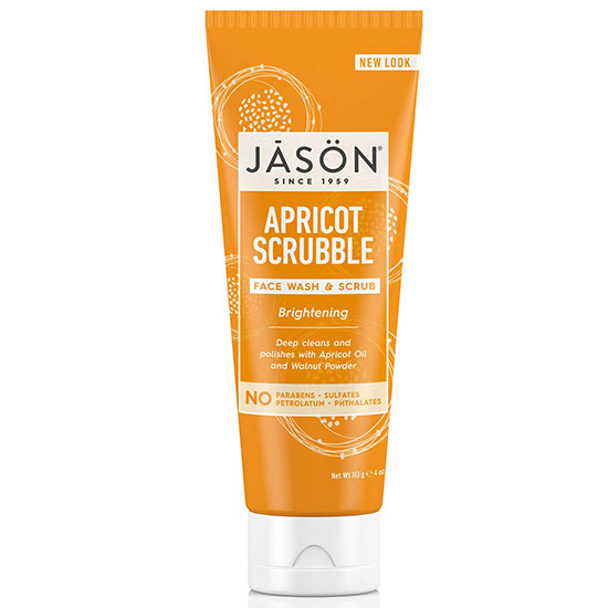 JASON Brightening Apricot Scrubble 4 oz