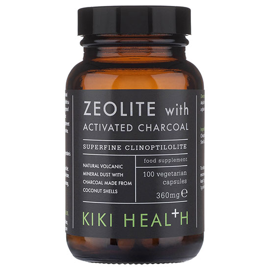 KIKI Health Zeolite With Activated Charcoal Vegicaps 100 Capsules