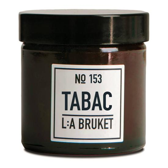 L:A BRUKET Small Tabac Scented Candle 2 oz