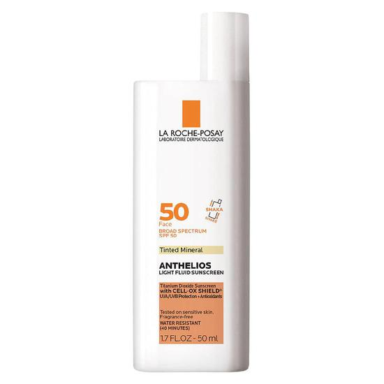 La Roche-Posay Mineral Tinted Face Sunscreen SPF 50 2 oz