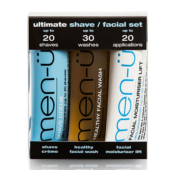 men-ü Ultimate Shave Facial Set 3 Products