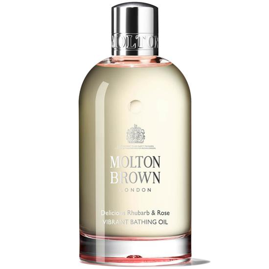 Molton Brown Delicious Rhubarb & Rose Vibrant Bathing Oil 200ml