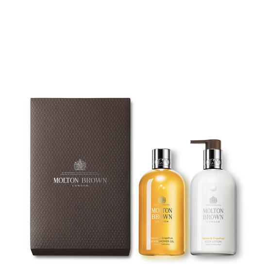 Molton Brown Vetiver & Grapefruit Shower Gel & Lotion Set