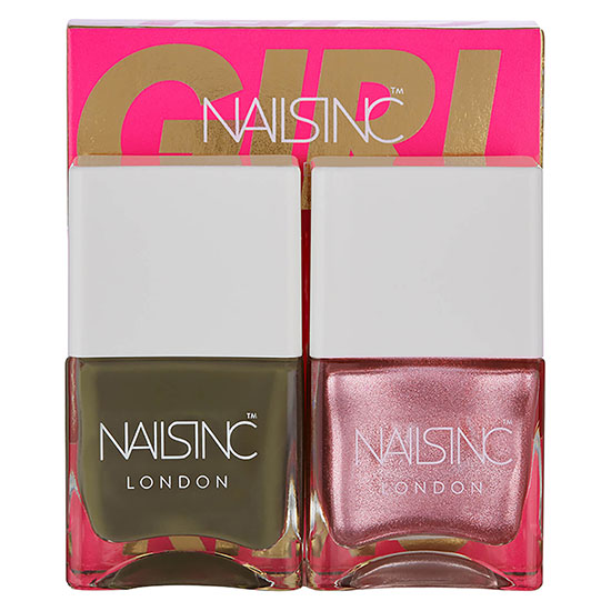 Nails Inc Nail Polish Duo Girl King