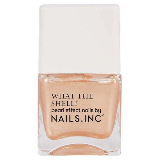 Nails Inc What The Shell Call Me On My Shell Phone Top Coat 0.5 oz