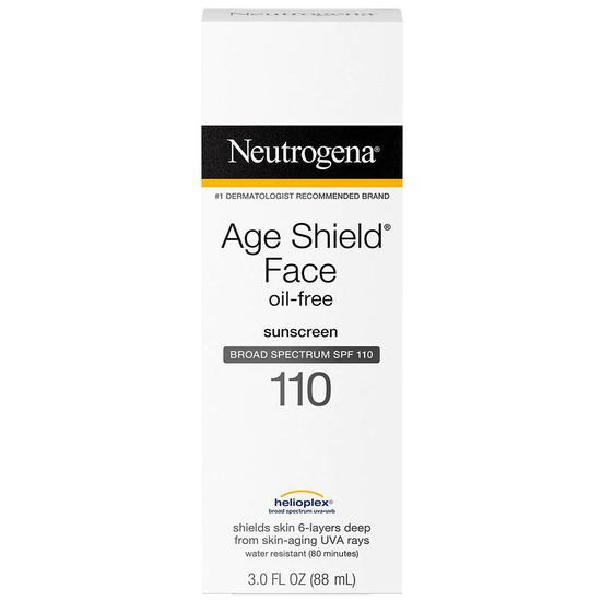 Neutrogena Age Shield Face Oil-Free Sunscreen SPF 110 3 oz