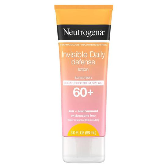 Neutrogena Invisible Daily Defense Lotion SPF 60+ 3 oz