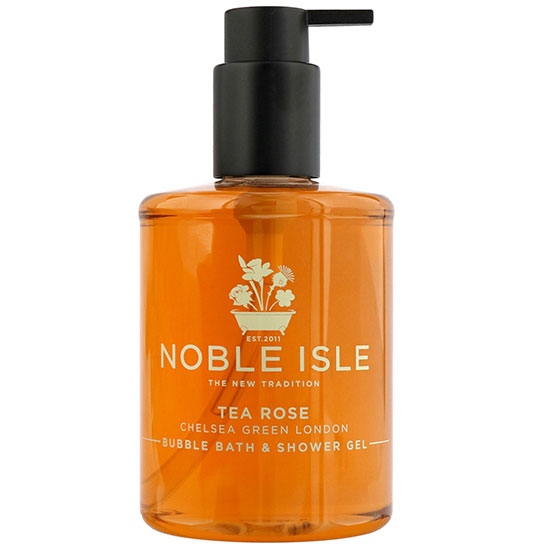 Noble Isle Limited Bath & Shower Gel Tea Rose Bubble Bath & Shower Gel 250ml