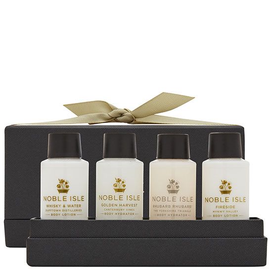 Noble Isle Limited Gift Sets Fragrance Sampler Of Lotions