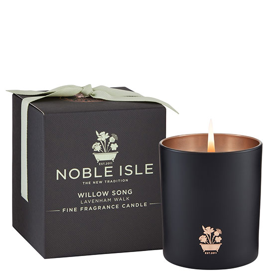 Noble Isle Limited Home Fragrance Willow Song Fine Fragrance Candle 7 oz