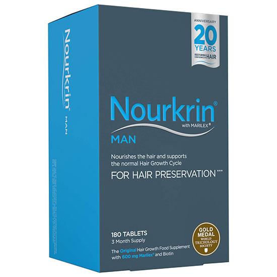 Nourkrin Man Starter Pack 180 Tablets