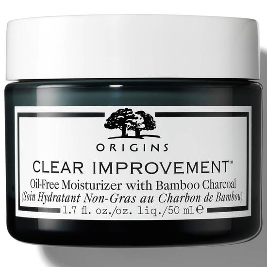 Origins Clear Improvement Oil Free Moisturizer With Bamboo Charcoal 2 oz