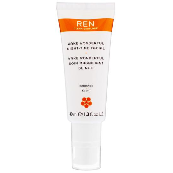 REN Wake Wonderful Night Time Facial 1 oz