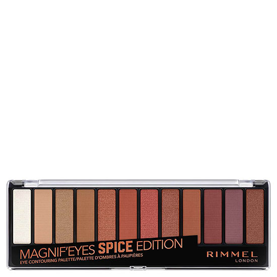 Rimmel Magnif'eyes 12 Pan Shade Palette Spice
